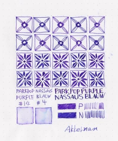 Akkerman Nassaus Blauw /Parkpop Purper