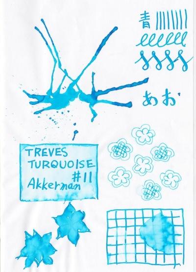 Akkerman #11 Tréves-Turquoise